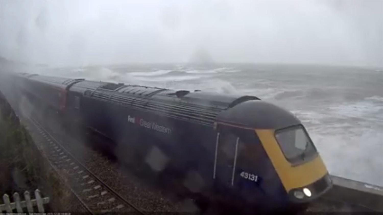 Train on fire dawlish webcam